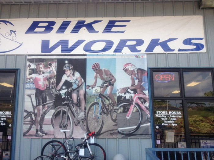 Bike Works Kona Bike Shop