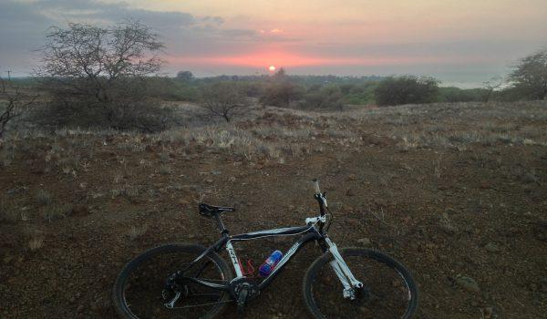 Riding From Kona To Hapuna Beach