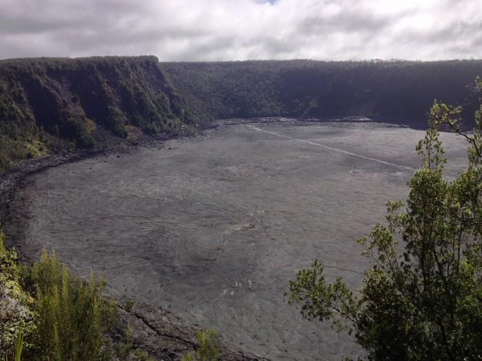 Kilauea Lki Trail Crater
