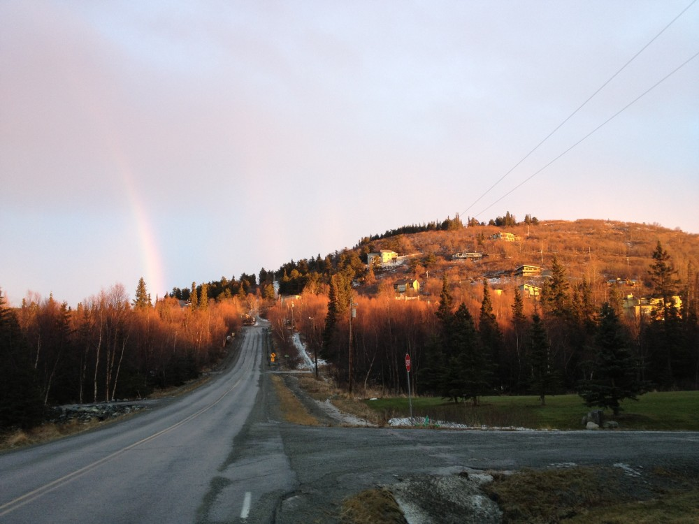 Glen-Alps Rainbow