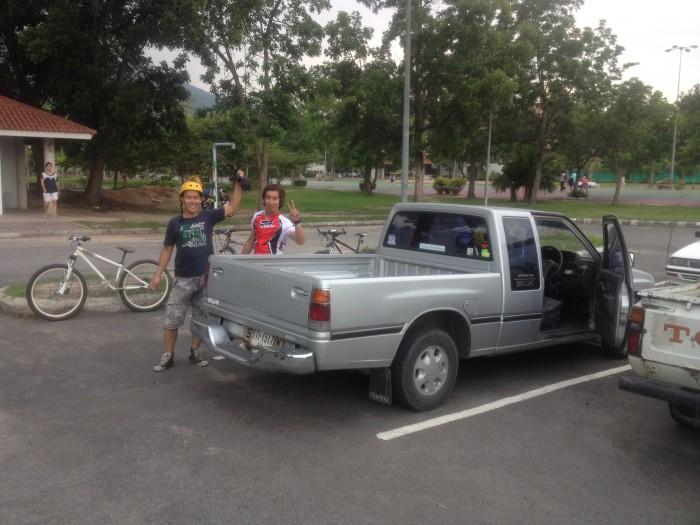 Mountain Biking 700 Year Stadium