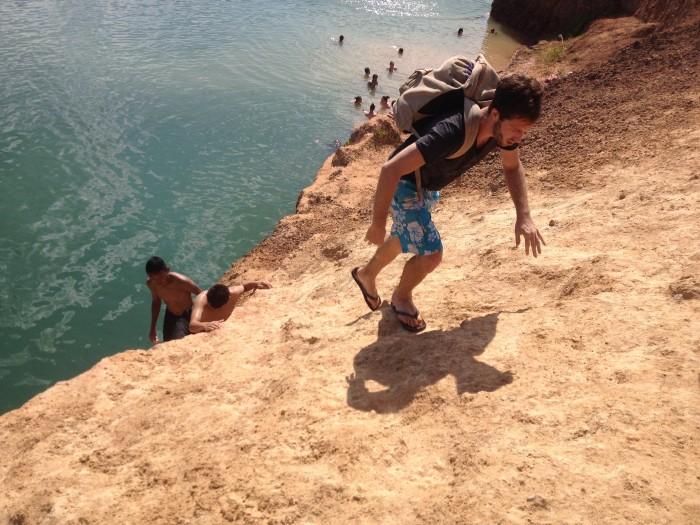 Chiang Mai Rock Quarry Cliff Climbing