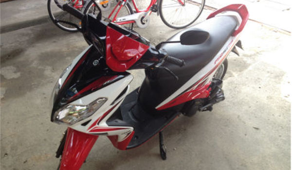 Motor-bike-red