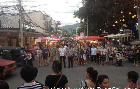 Exploring The Sunday Walking Street Chiang Mai