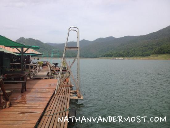 House Boat Dive Ladder