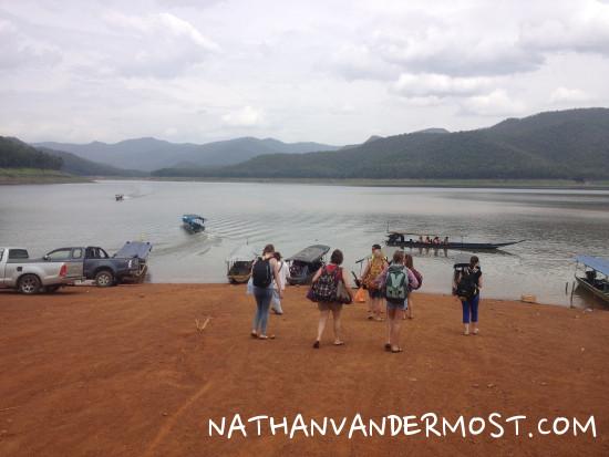 Mae Ngat Dam Boat Launch