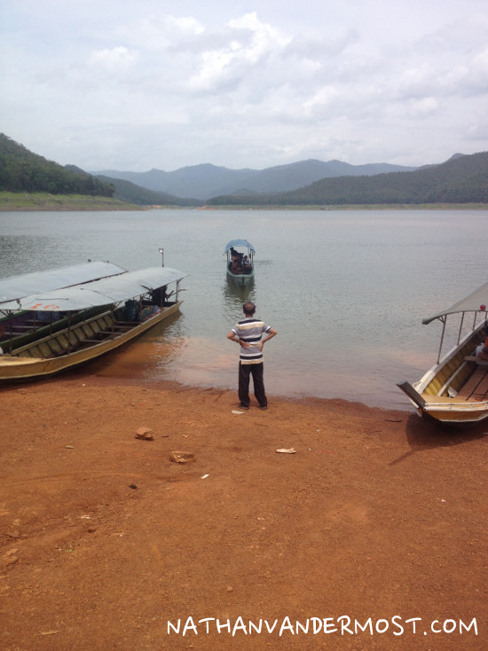 Mae Ngat Dam Long Tail Boat Trip