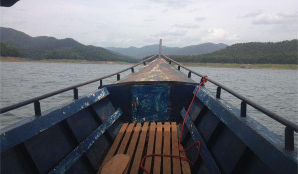 Mae Ngat-Dam-Long-Boat