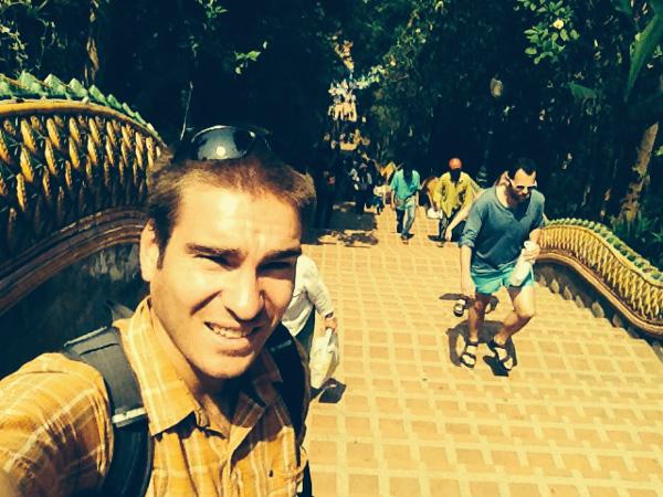 Wat Phra That Doi Suthep steps