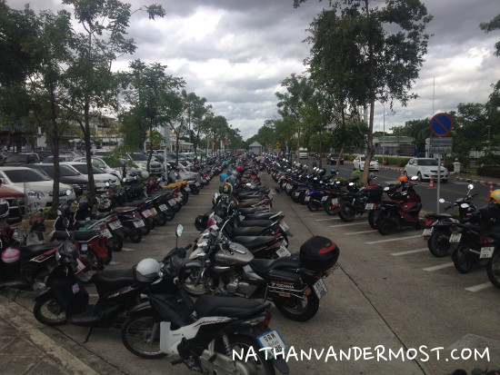 Chiang Mai Airport Motorcycle Parking Lot