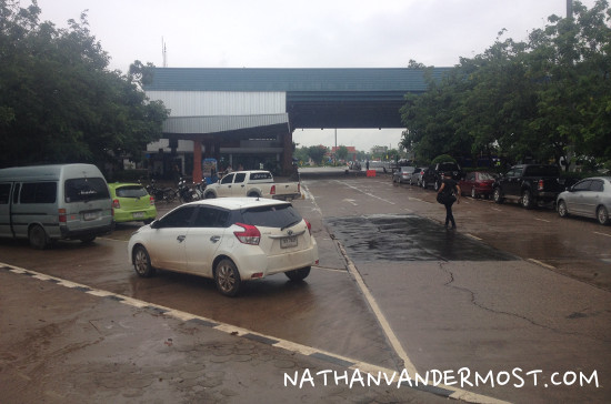 Nong Khai and Laos Border Crossing
