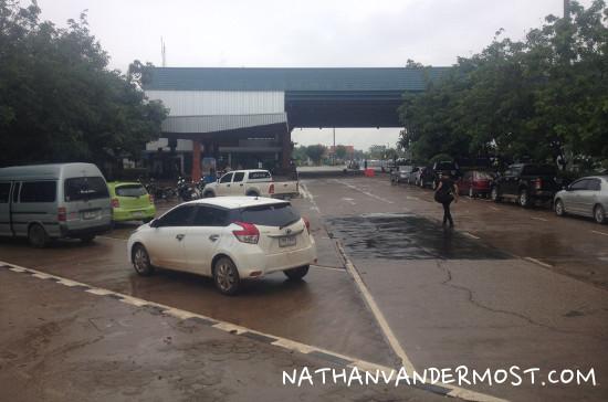 Nong Khai and Laos Border Crossing