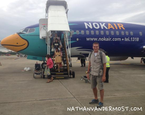 Nok Air Airplane