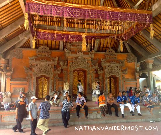 Ubud Temple Shrine