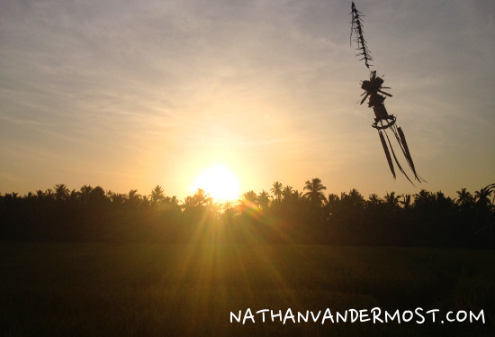 Ubud Sun-Set
