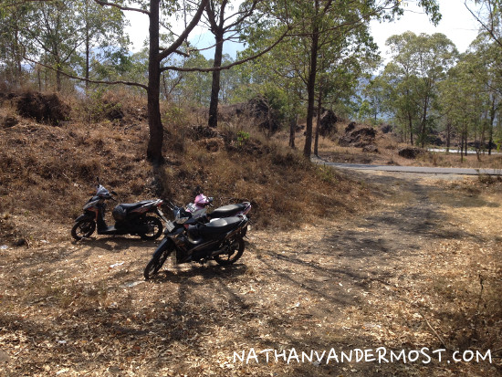 Mount Batur Motorbike Parking