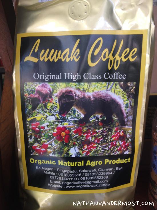 Luwak Coffee Bag
