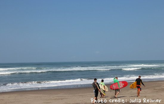 Exploring Different Surfing Spots In Canngu