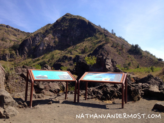 Mount Batur Interpretive Signs