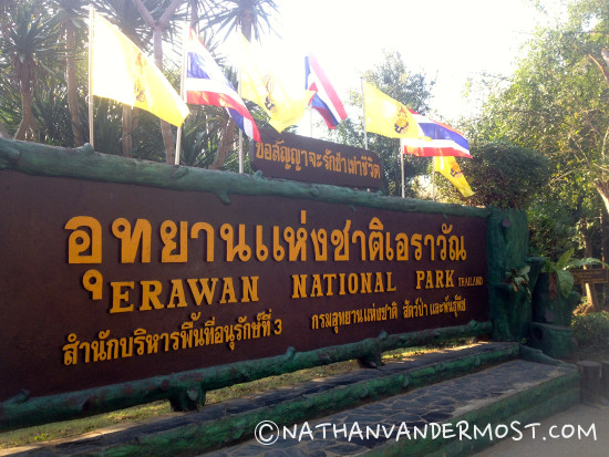 3_Hiking_Through_Erawan_Waterfalls