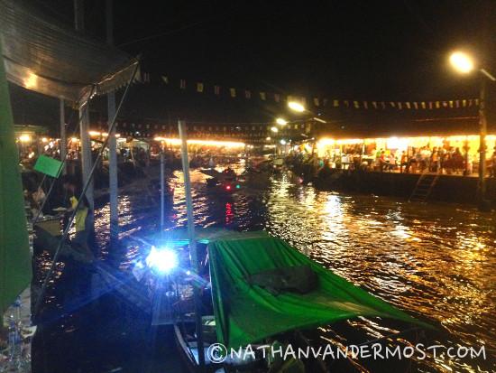 4.Amphawa Night Floating Market