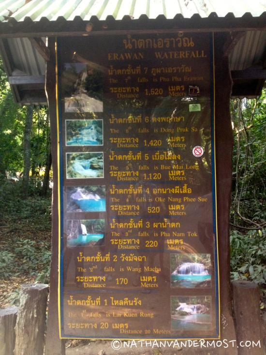 4_Hiking_Through_Erawan_Waterfalls