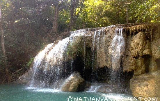 Hiking Erawan Waterfalls