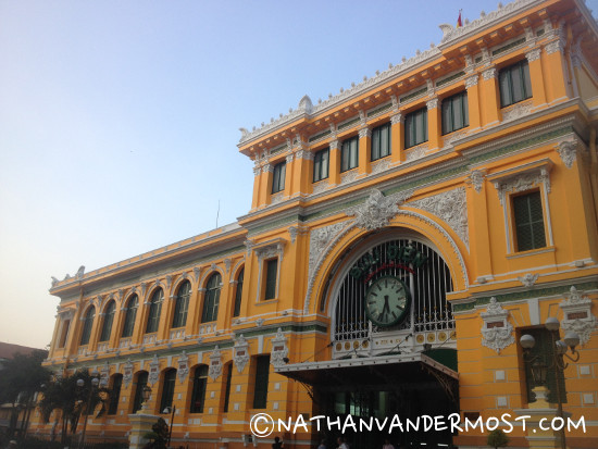 Old Central Post Office Ho Chi Minh City
