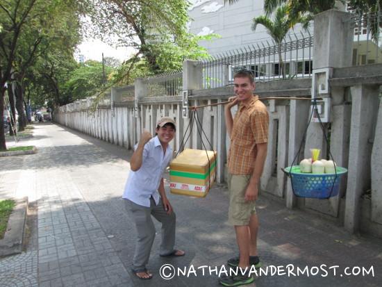 Vietnamese Cocount Seller