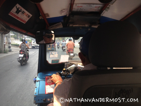 En-route To The Airport, Thai Style