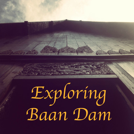 Exploring Baan Dam Chiang Rai