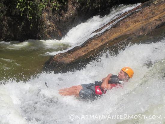 Canyoning Dalat Rock Slide