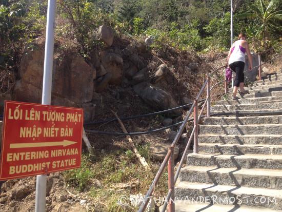 Ta Cu Mountain Stairs