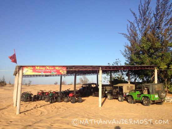 Mui Ne White Sand Dunes ATV's