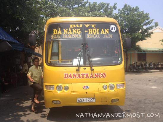 Da Nang To Hoi An Local Bus