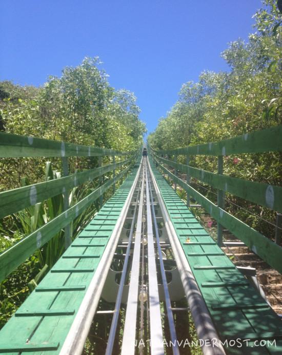 Vinpearl Land Roller Coaster Track