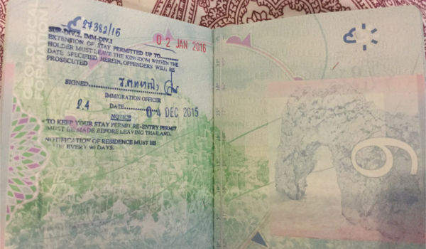 How To Extend A Tourist Visa In Bangkok, Thailand