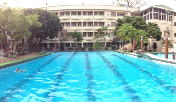 My Favorite Outdoor Swimming Pool In Hanoi