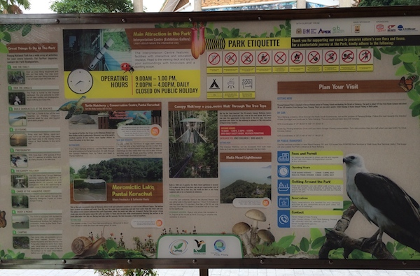 Penang-National-Park-Sign
