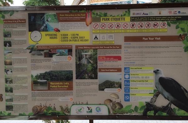 Penang-National-Park-Sign