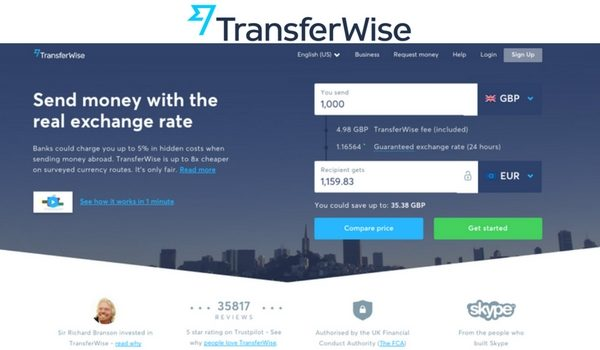 Why Transferwise Is The Best Method To Transfer Money Abroad